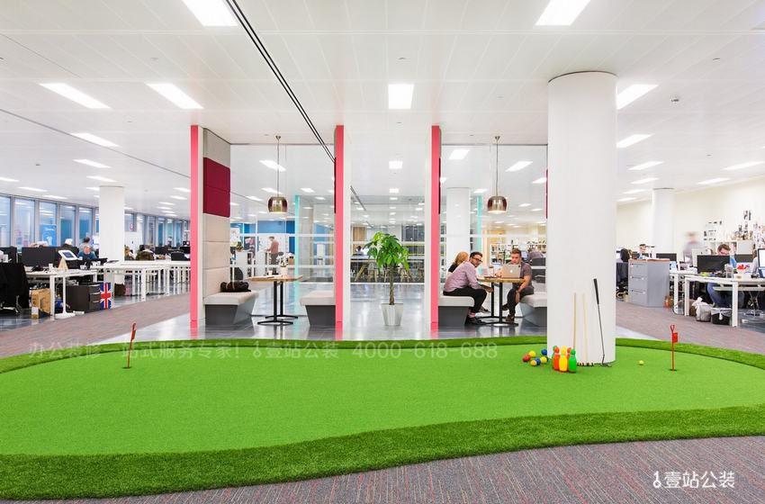 视觉效果不错的办公室地面